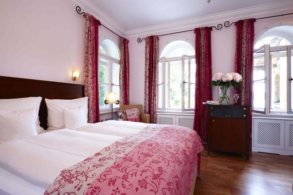 Historisches Zimmer: Stilvoll könnt Ihr hier Eure Hochzeitsnacht verbringen.